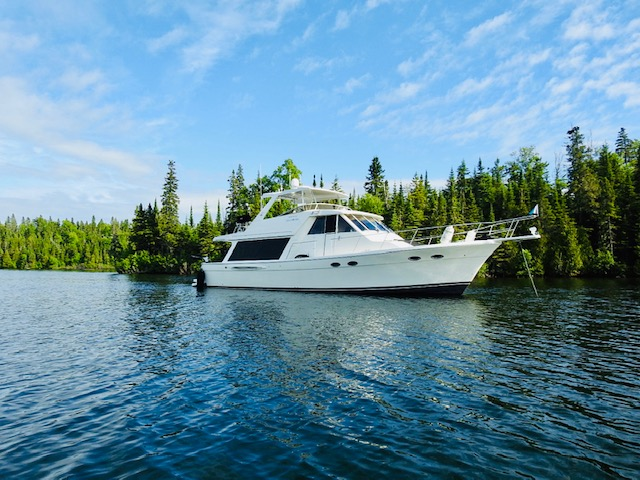 49' Meridian 490 Pilothouse 2008 Starboard View
