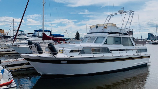 Marinette 37 Double Cabin 1978 Port One
